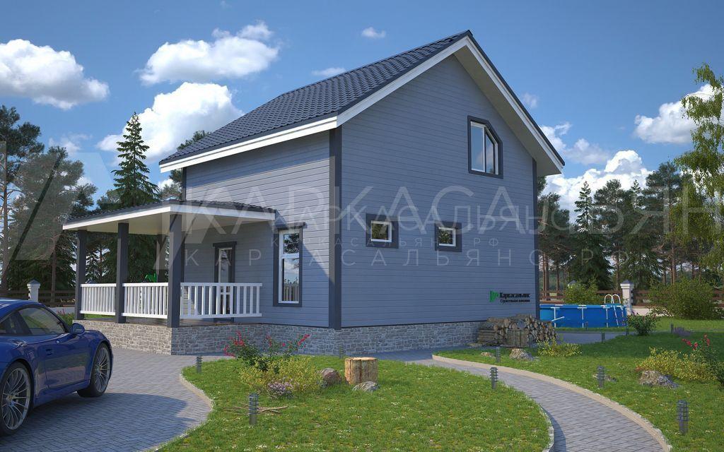 "Проект дома ""Канада"" - фото 3"