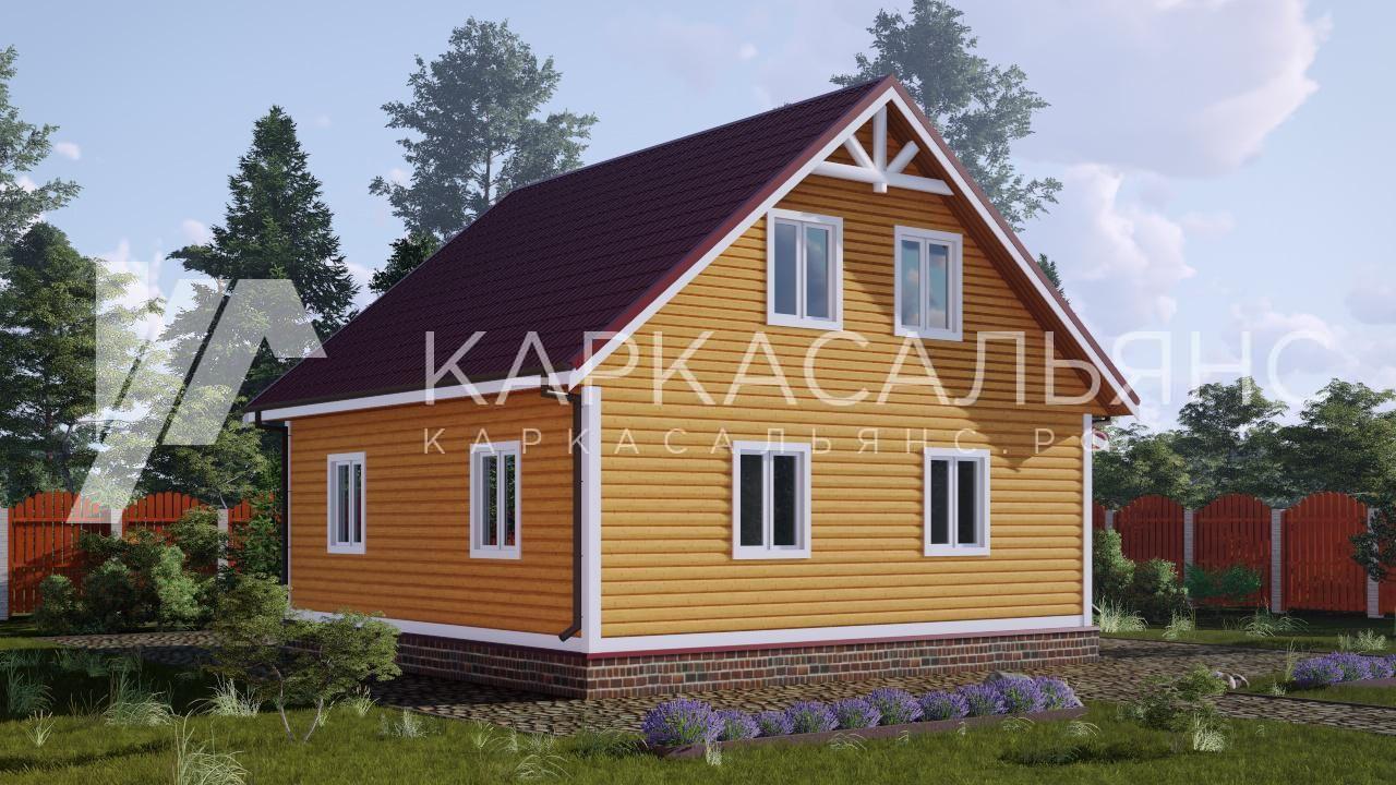 """Проект дома """"Сарния"""" - фото 2"""
