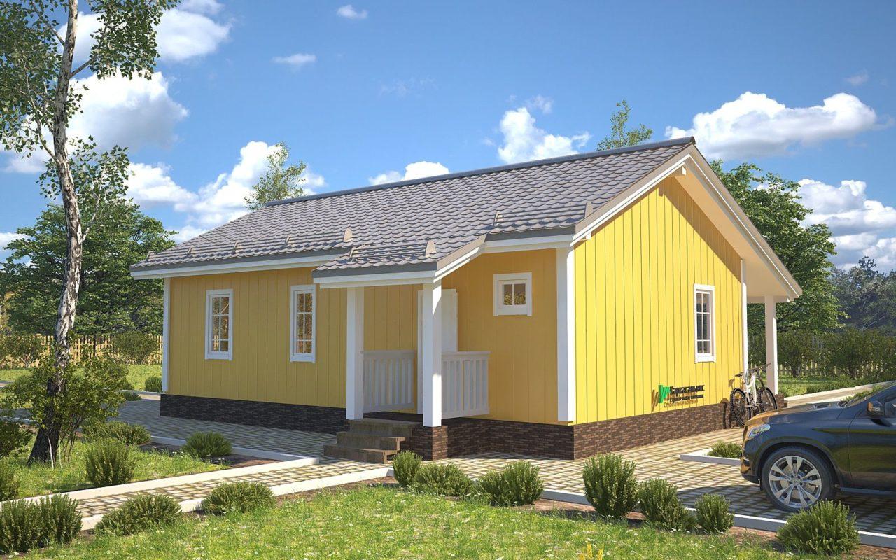 "Проект дома ""Алаярви"" - фото 4"