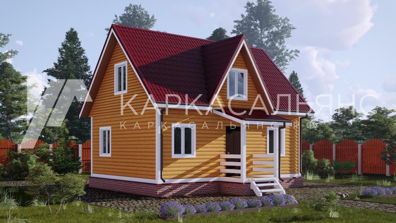 "Проект дома ""Алаярви"" - фото 2"