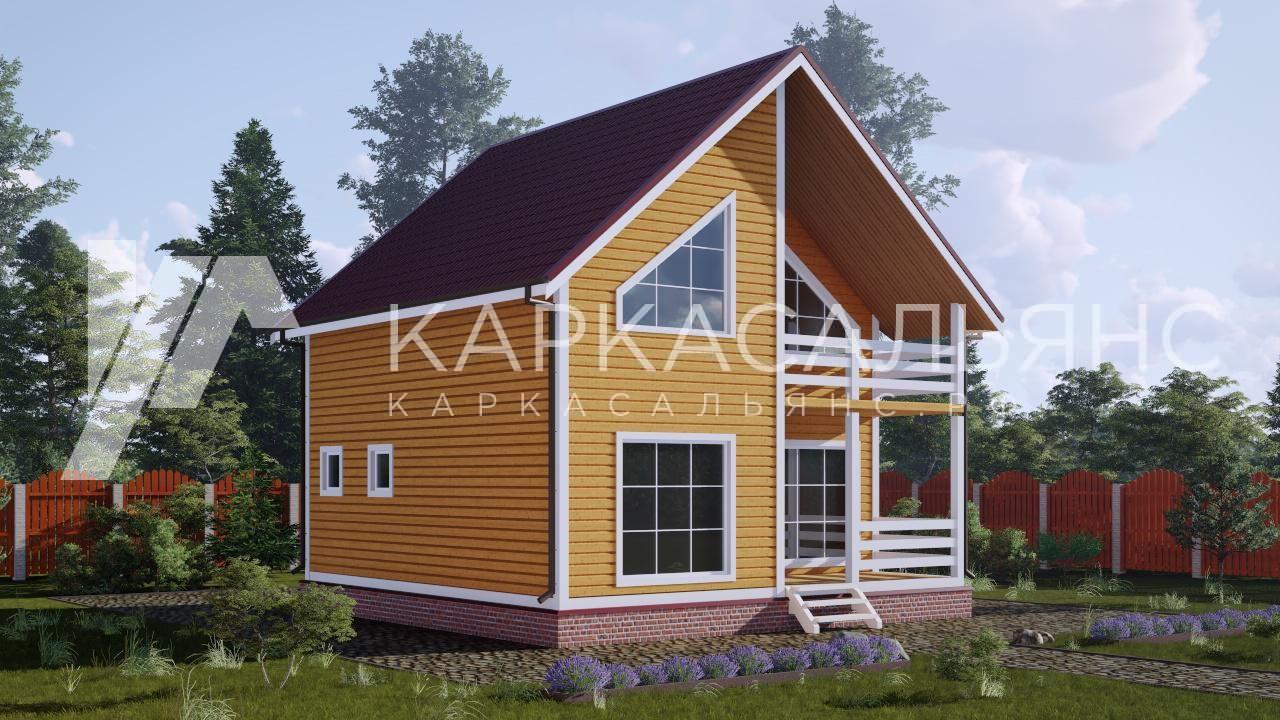 """Проект дома """"Кингстон"""" - фото 2"""