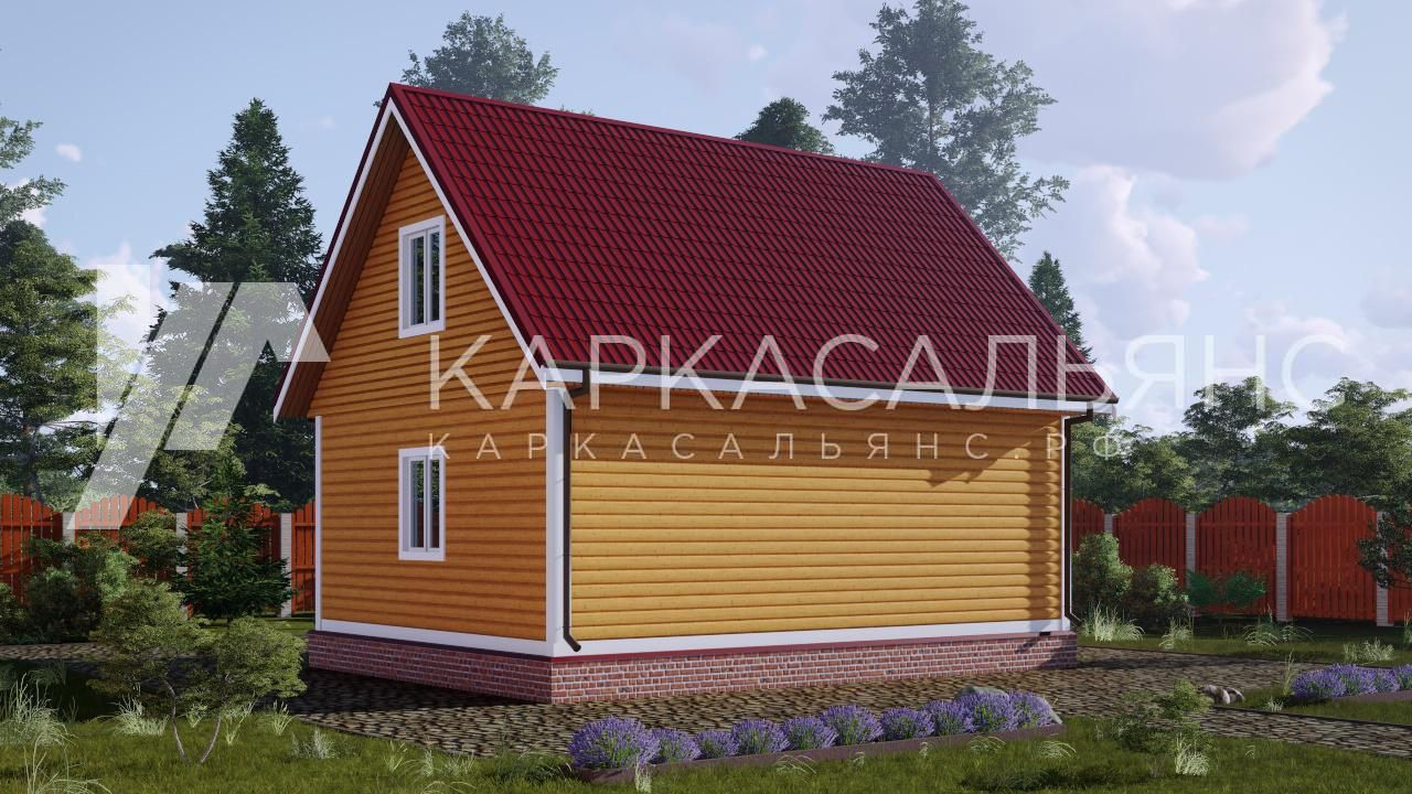 "Проект дома ""Алаярви"" - фото 3"