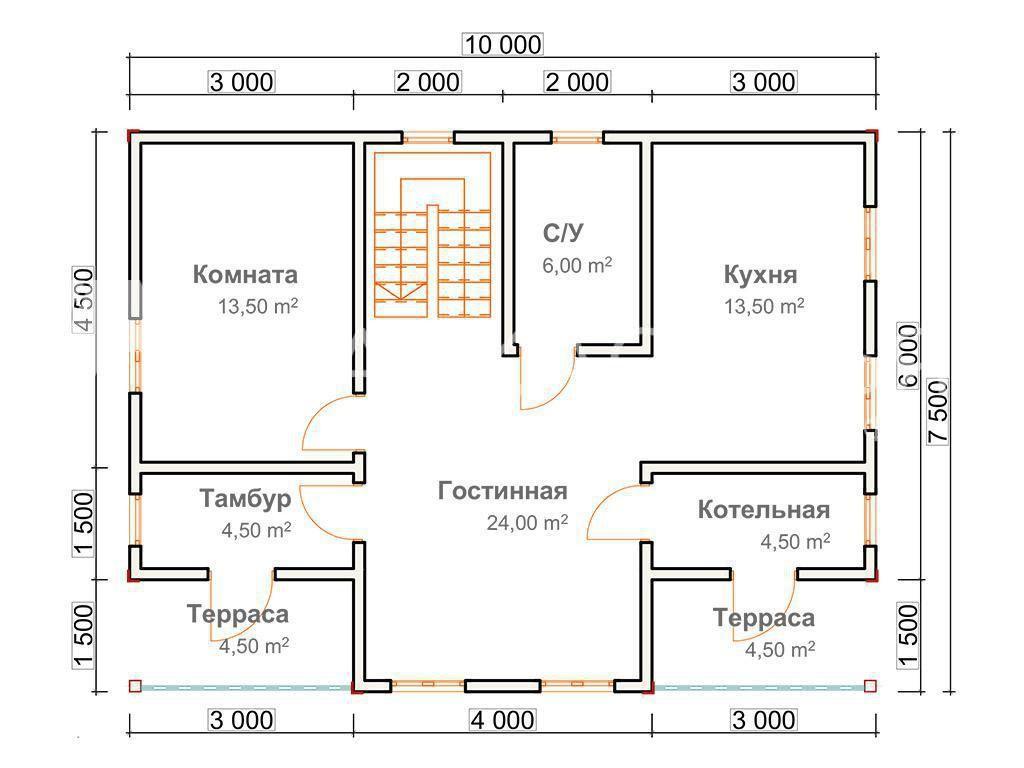 """Проект дома """"Виктория"""" - фото 4"""