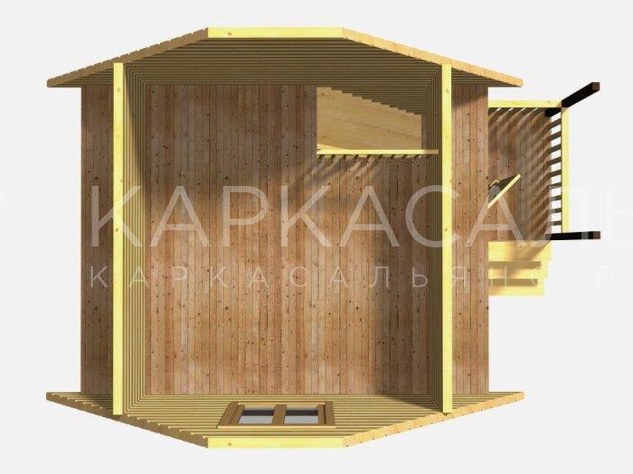 """Проект дома """"Гурон"""" - фото 2"""