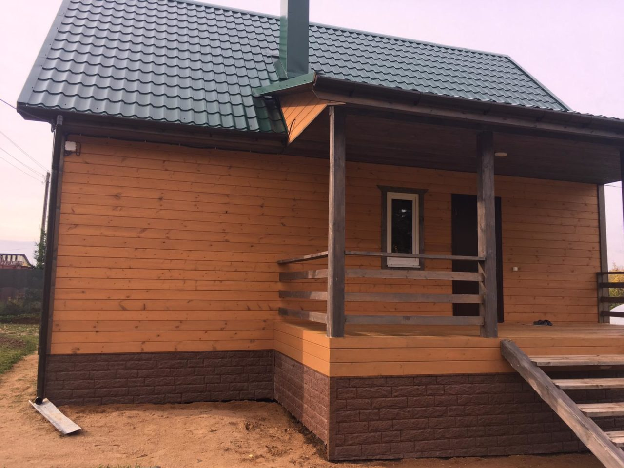 Дом из бруса в Витебске - фото 2