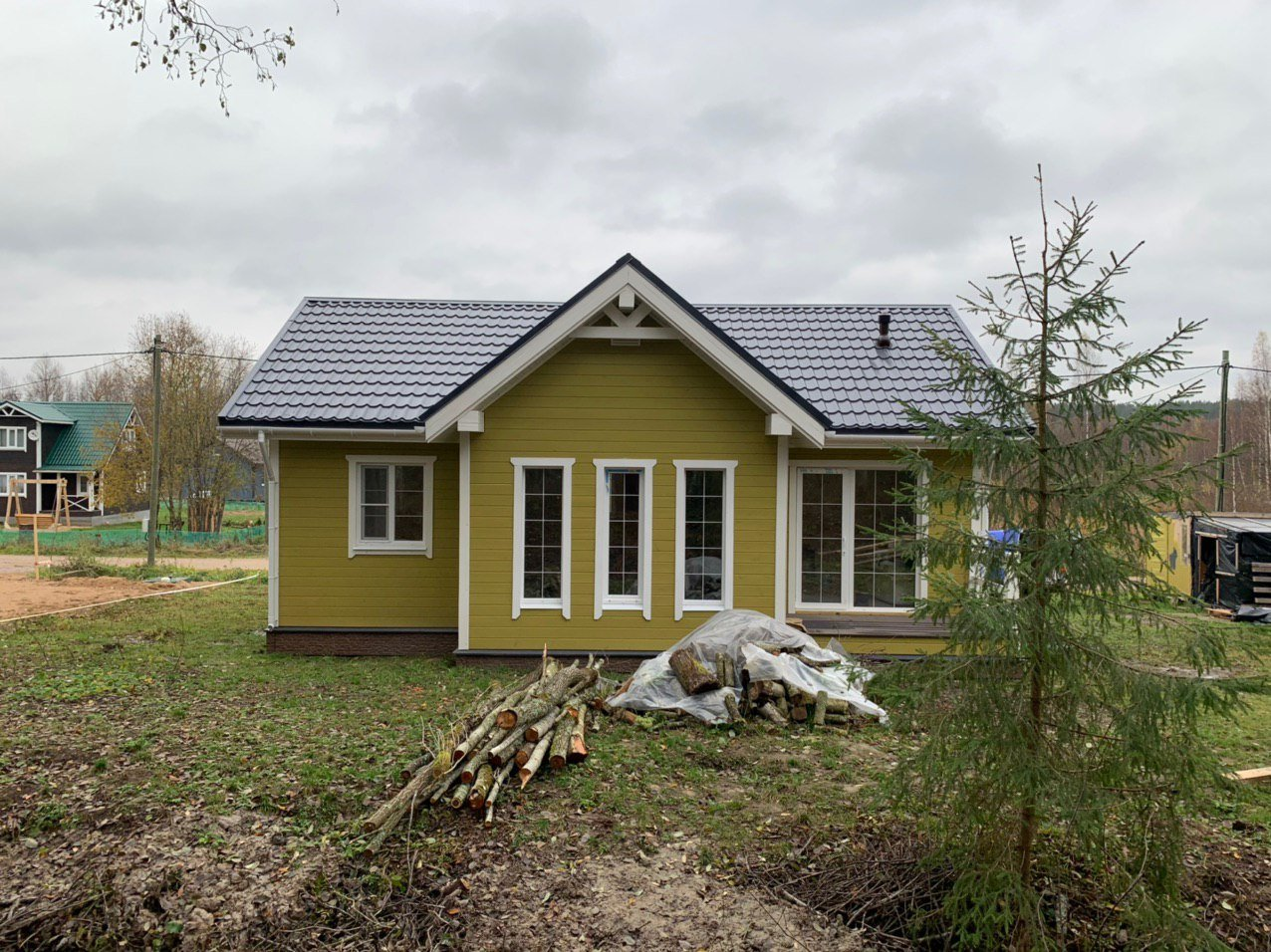 Дом Дэльфия Спб каркас Волочаевка - фото 4